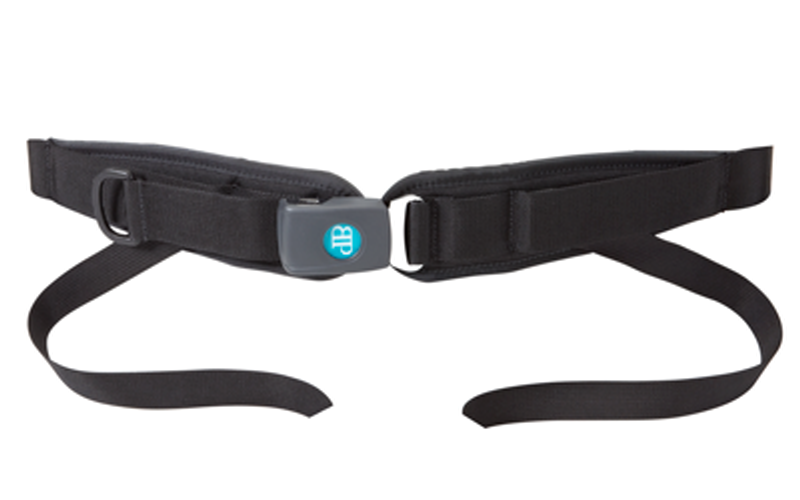 Bodypoint Secure Positioning 4 Point Padded Hip Belt For