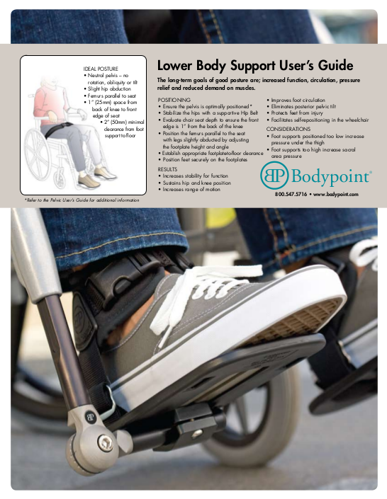 Lower Body Support