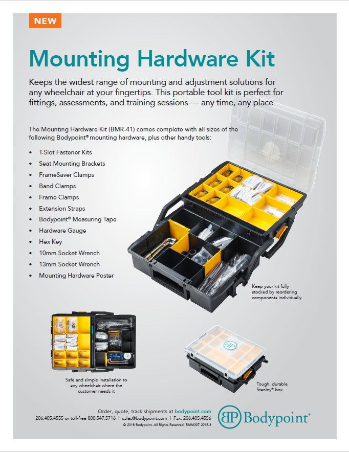 Mounting Hardware Kit Sell Sheet